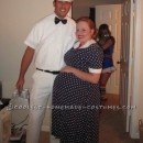Easy Couple's Costume: The Milkman and Pregnant Housewife