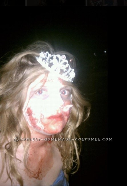 Easy Prom Zombie Costume for a Girl – Super Easy and Cheap! - 1