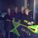 Easy to Make Jamaican Bobsled Team Homemade Group Costume