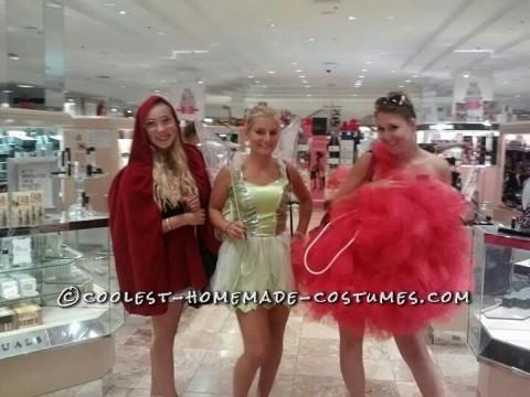 Giant Loofah Sponge Homemade Costume Idea for a Woman