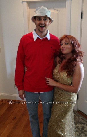 Great DIY Couple Costume Idea: Gilligan and Ginger from Gilligan's Island