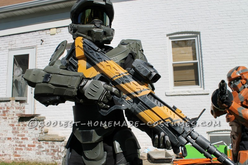 halo 4 master chief costume for 12 year old boy completely scratchbuilt