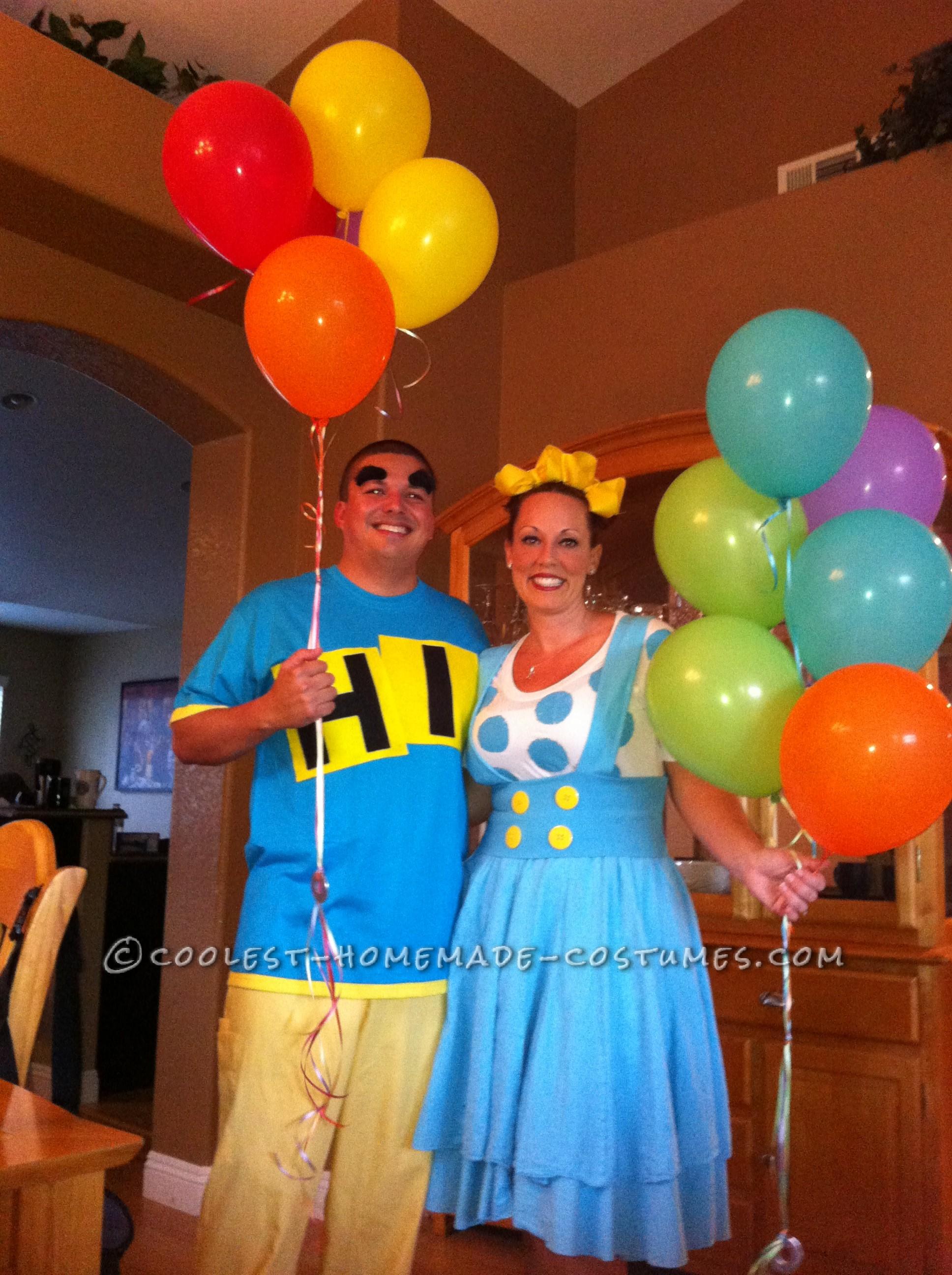 Original Hanging With Friends Homemade Couple Costume