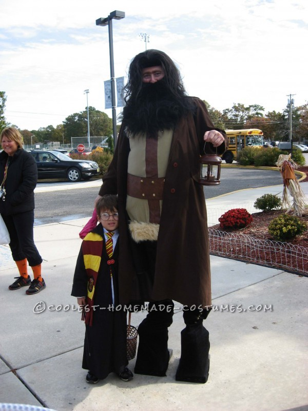 Cool Homemade Harry Potter Family Costume
