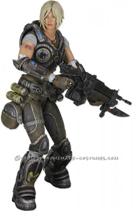 Anya Stroud Gears of War 3 Costume