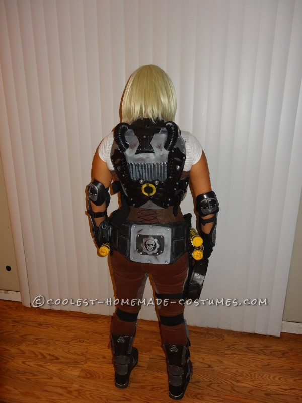 Anya Stroud Gears of War 3 Costume Back