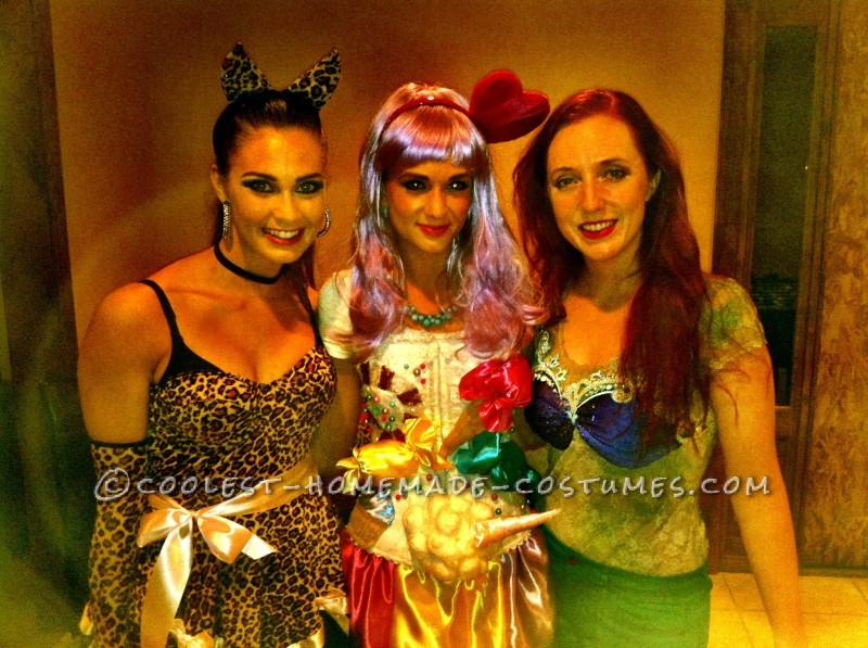 Sexy DIY Katy Perry Candy Land Halloween Costume - 1