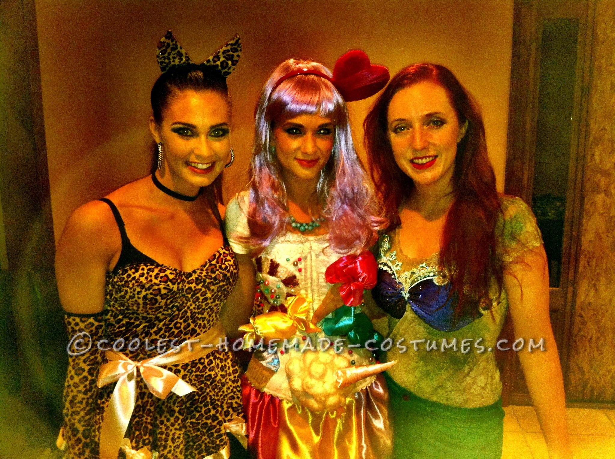 Sexy DIY Katy Perry Candy Land Halloween Costume