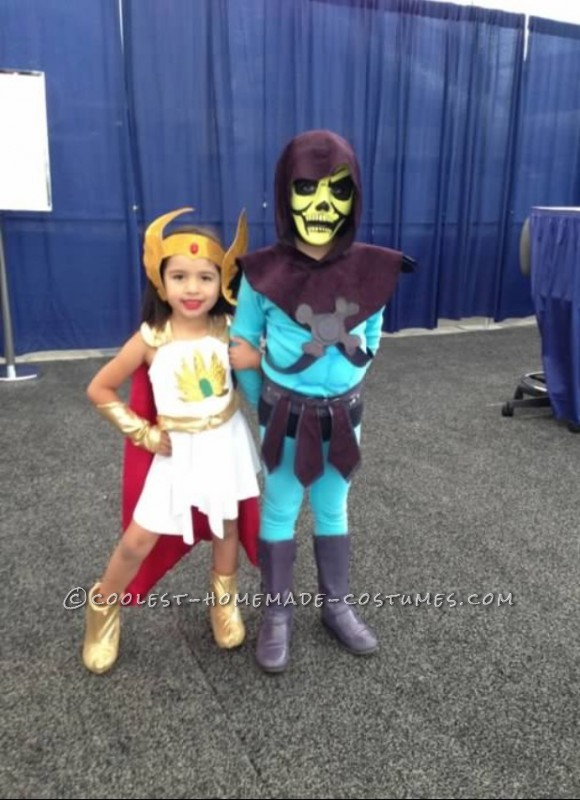 She-ra and Skeletor Posing at Comic-Con