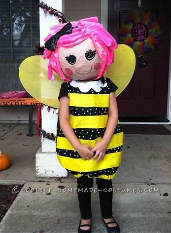 Life Size LaLaLoopsy Doll Costume For a Preschooler
