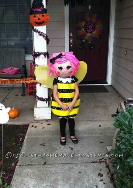 Life Size LaLaLoopsy Doll Costume For a Preschooler - 1