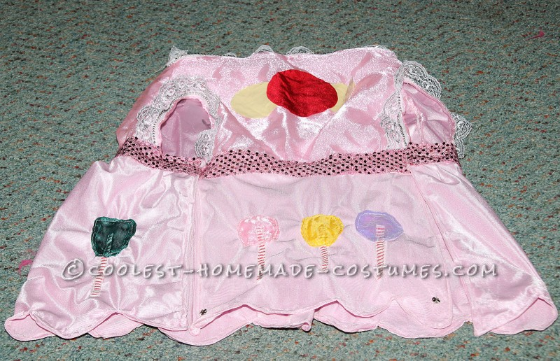 Princess Lolly's Dress with Appliqued Lollipops