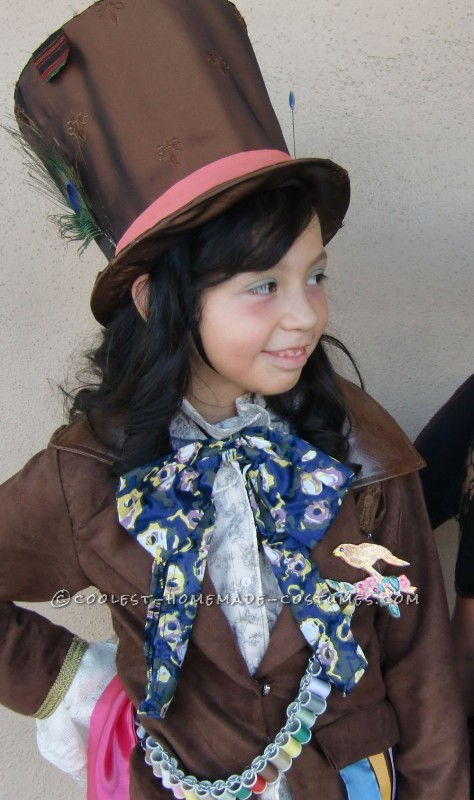 Coolest Mad Hatter Girl Costume Idea - 1