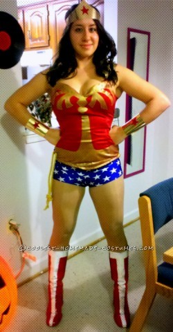 Mostly DIY Modern Wonder Woman Costume