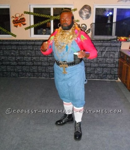 Coolest Homemade Mr. T Costume