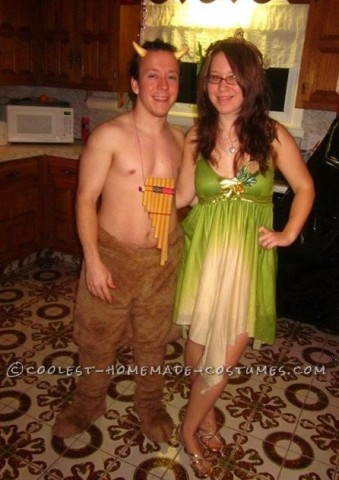 Coolest Homemade Satyr Costume