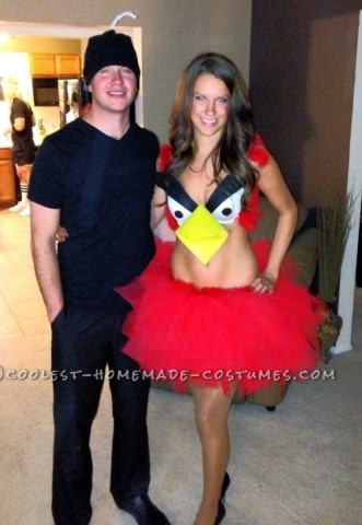 Sexy Angry Birds Halloween Costume
