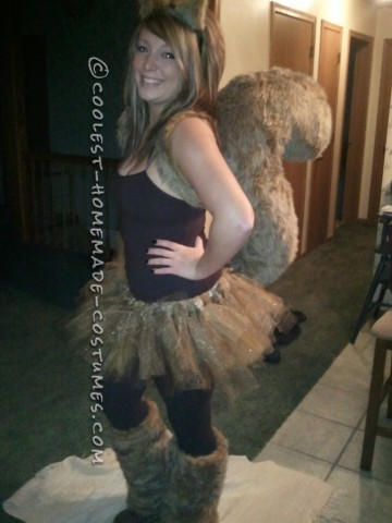 Homemade Sexy Squirrel Costume