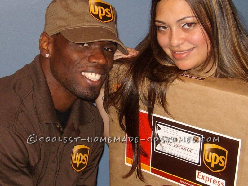 UPS Guy and His Package