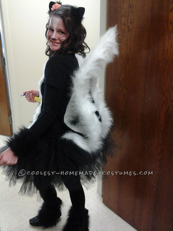 Coolest Homemade Skunk Costume - 2