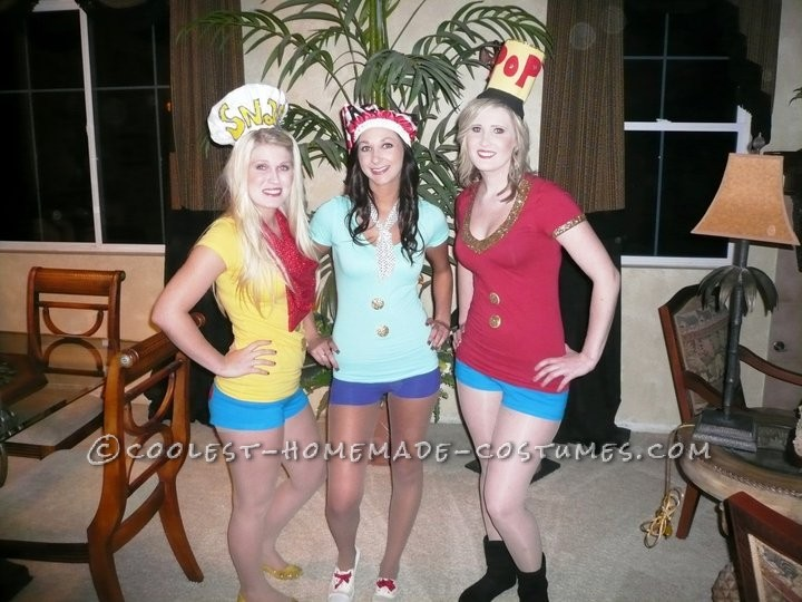 Great Last-Minute Sexy Girl Group Costume Idea: Snap, Crackle and Pop! - 1