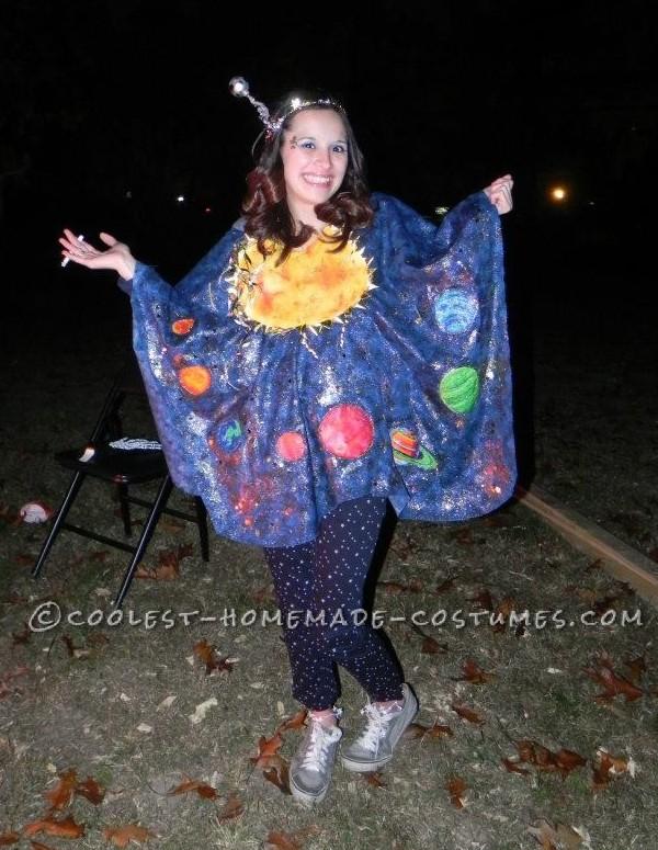 Homemade Solar System Costume
