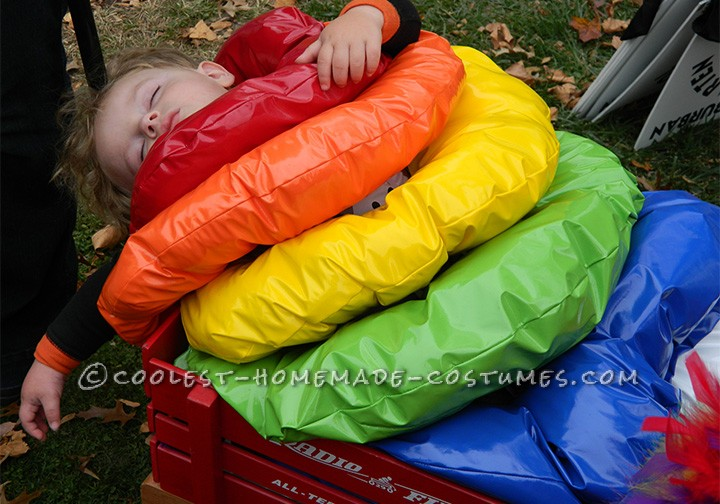 Homemade Costume Idea for a Toddler: Stacking Ring Toy Costume - 2