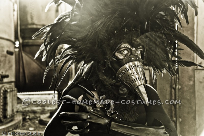 Steampunk Bird Hybrid Costume - 1