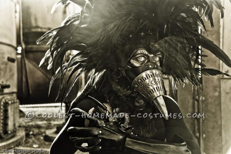 Steampunk Bird Hybrid Costume