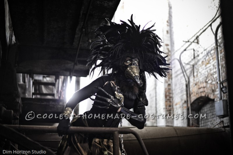 Steampunk Bird Hybrid Costume - 2