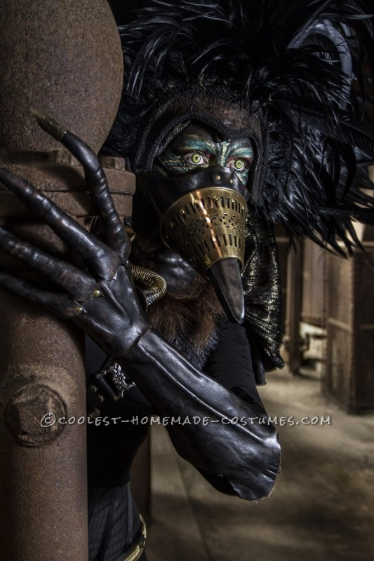Steampunk Bird Hybrid Costume - 4