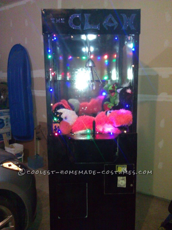 Awesome Homemade Costume Idea: The Claw Machine