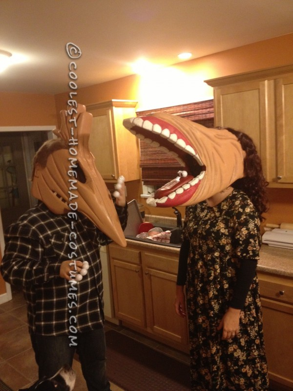 The Maitlands' from Beetlejuice Homemade Costume