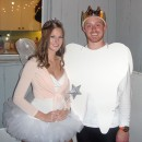 Coolest Tooth and Tooth Fairy Homemade Couples Costume