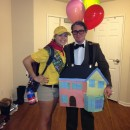 Coolest UP! Carl Fredricksen and Russell Couple Costume