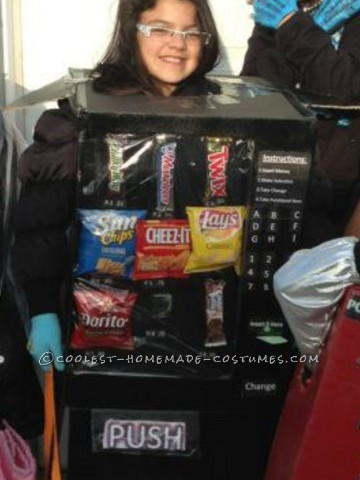 Coolest Homemade Vending Machine Costume