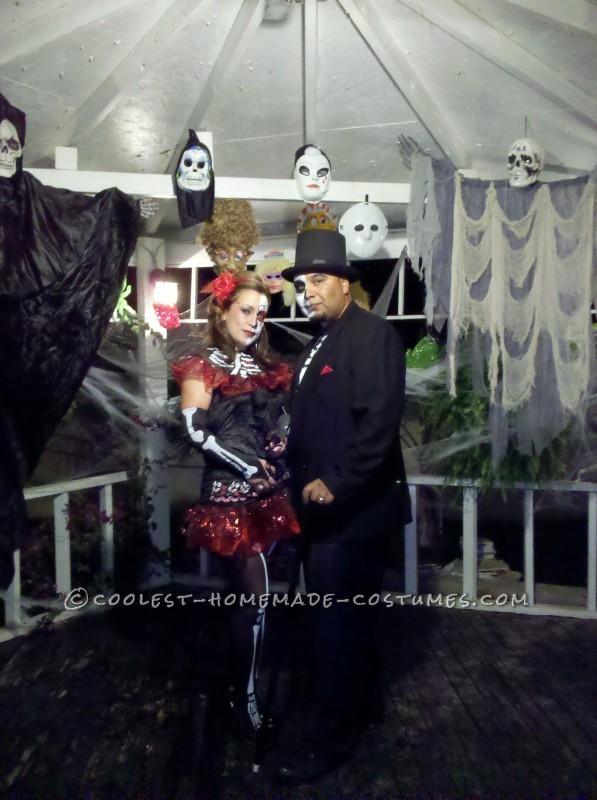 First Place Homemade Dia de Los Muertos Couples Costume - 1
