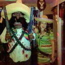 Mexican Outlaw Couples Costume with Cool Homemade Accessories