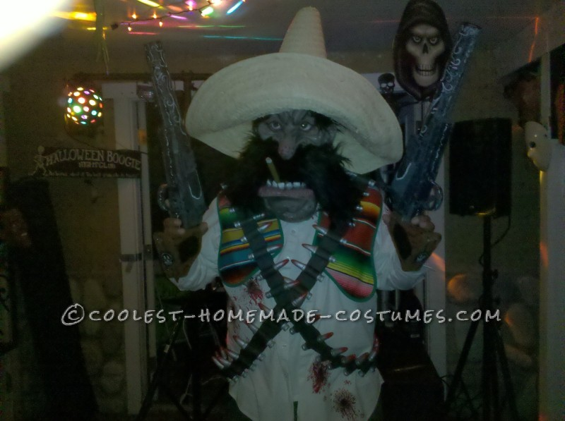 Mexican Outlaw Couples Costume with Cool Homemade Accessories - 1