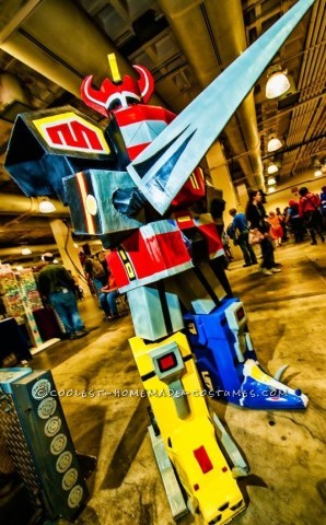Amazing Seven Foot Tall Mighty Megazord Costume
