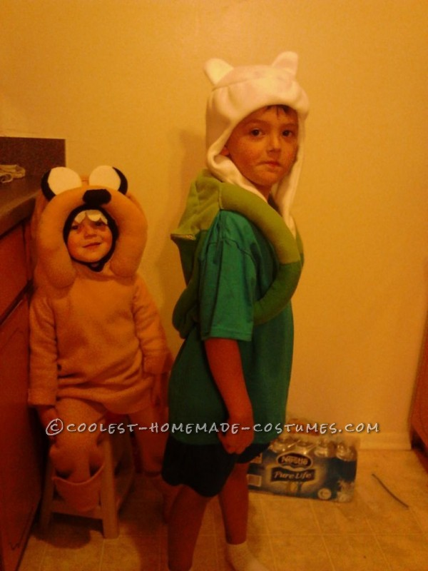 Ultimate Adventure Time Homemade Halloween Family Costume - 3