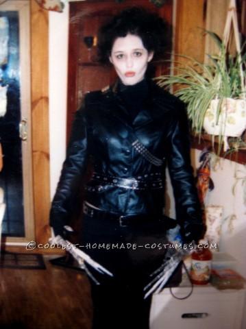 Homemade Adult Edward Scissorhands Costume