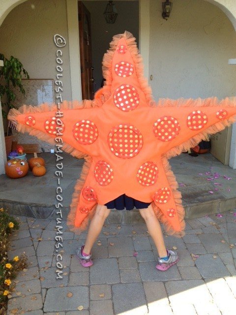 Awesome DIY Costume for Two Girls: Two Sea Stars - 4