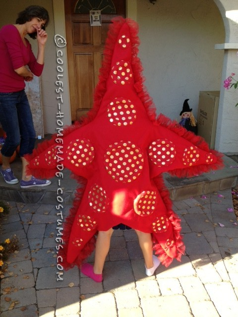 Awesome DIY Costume for Two Girls: Two Sea Stars - 2