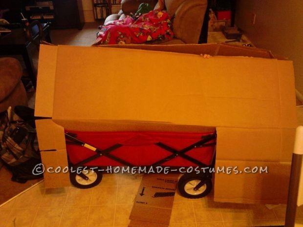Making Lady Rainacorn Wagon and Cardoboard