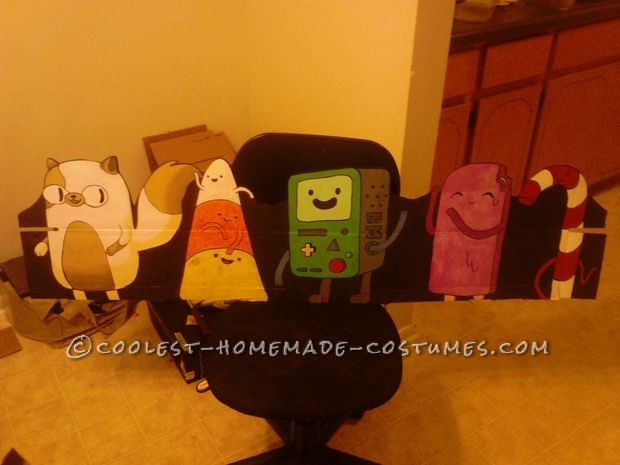 Ultimate Adventure Time Homemade Halloween Family Costume - 33