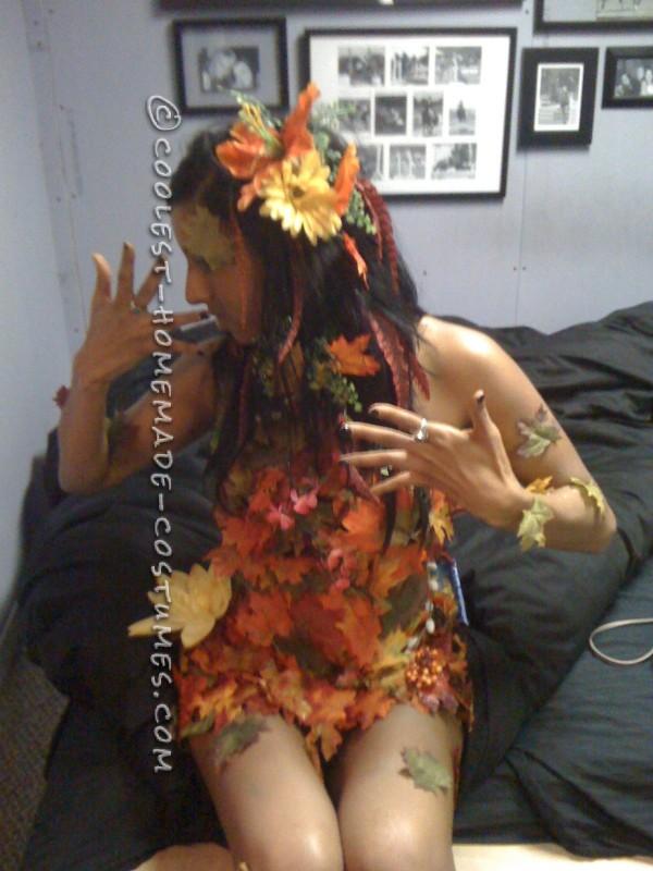 Sexy DIY Costume Idea: Autumn Tree Nymph - 3