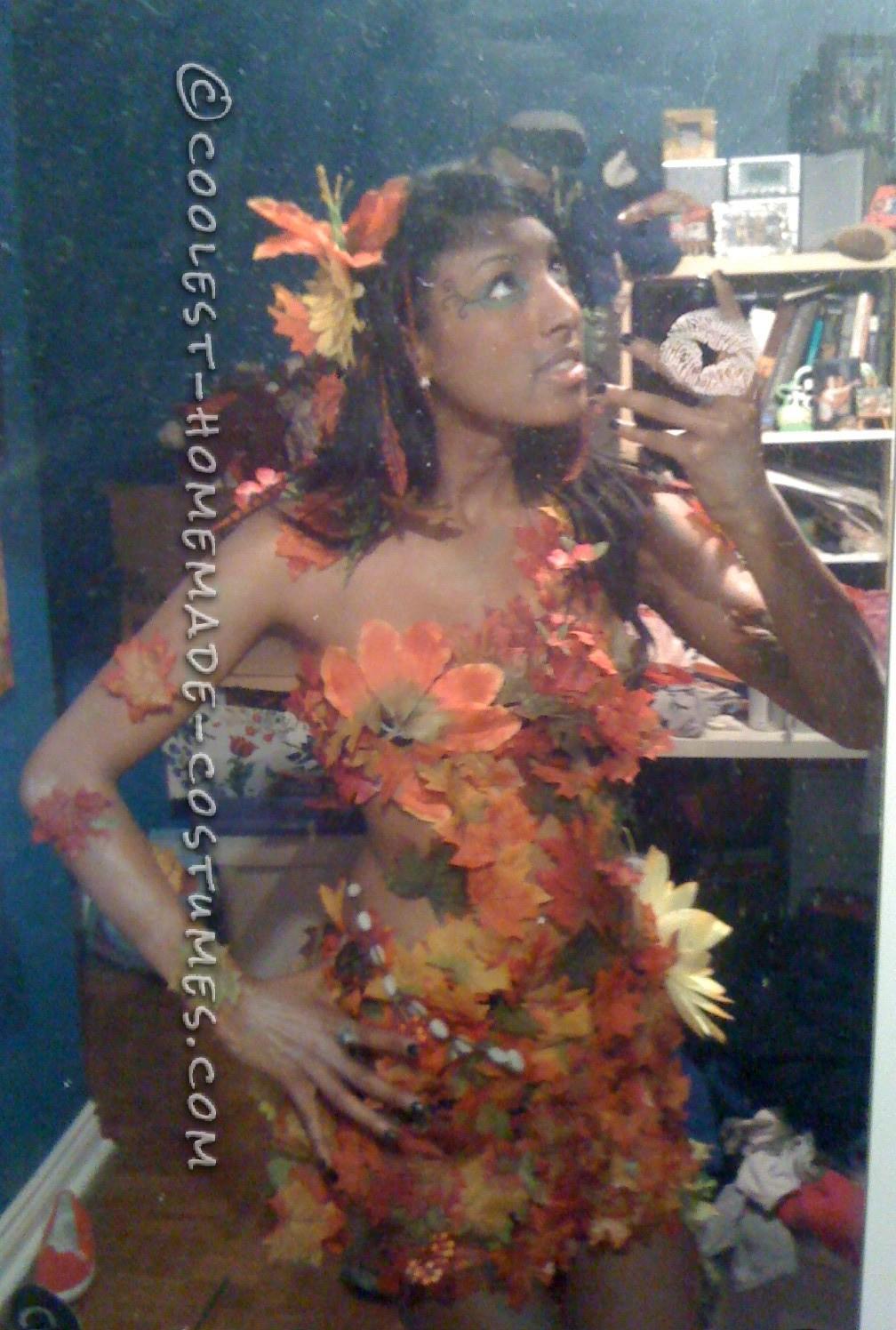 Sexy DIY Costume Idea: Autumn Tree Nymph