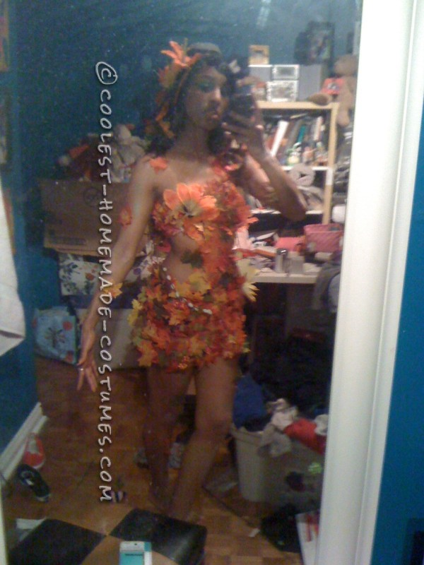 Sexy DIY Costume Idea: Autumn Tree Nymph - 1