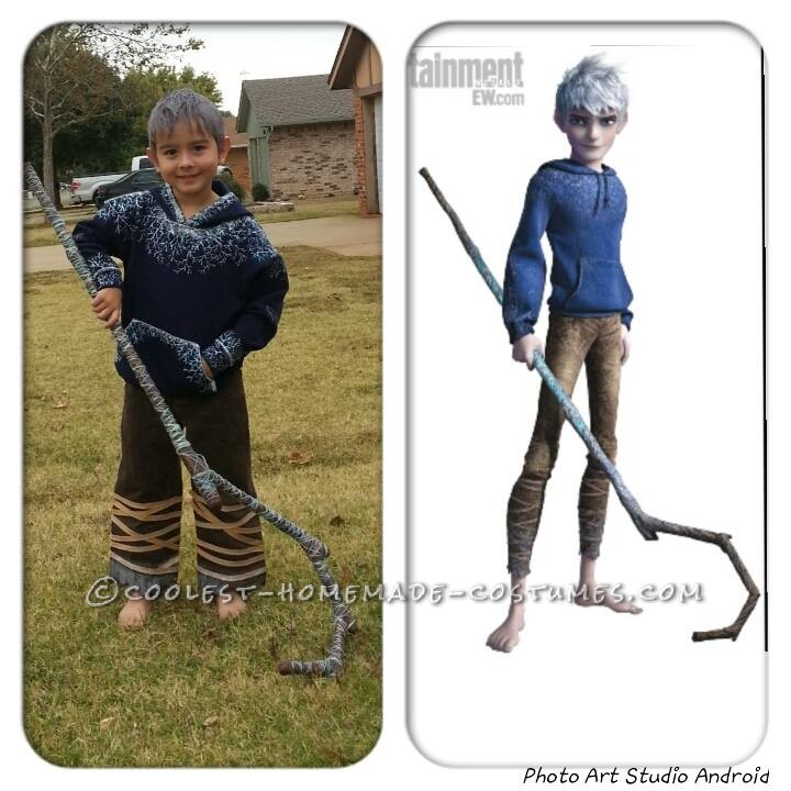 when my son decided he wanted to be jack frost from rise of the guardians for halloween my immediate reaction was hey that will be an cool and easy